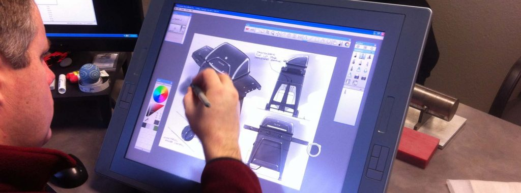 Industrial design capabilities at Creative Design Network.