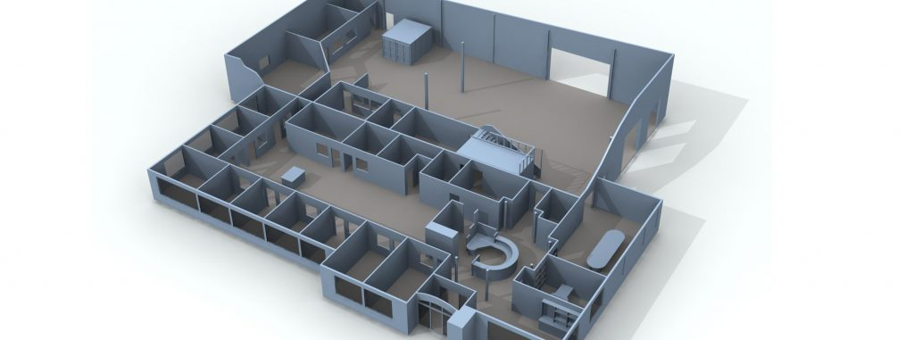 CDN engineering firm facility layout located in West Bend, WI.