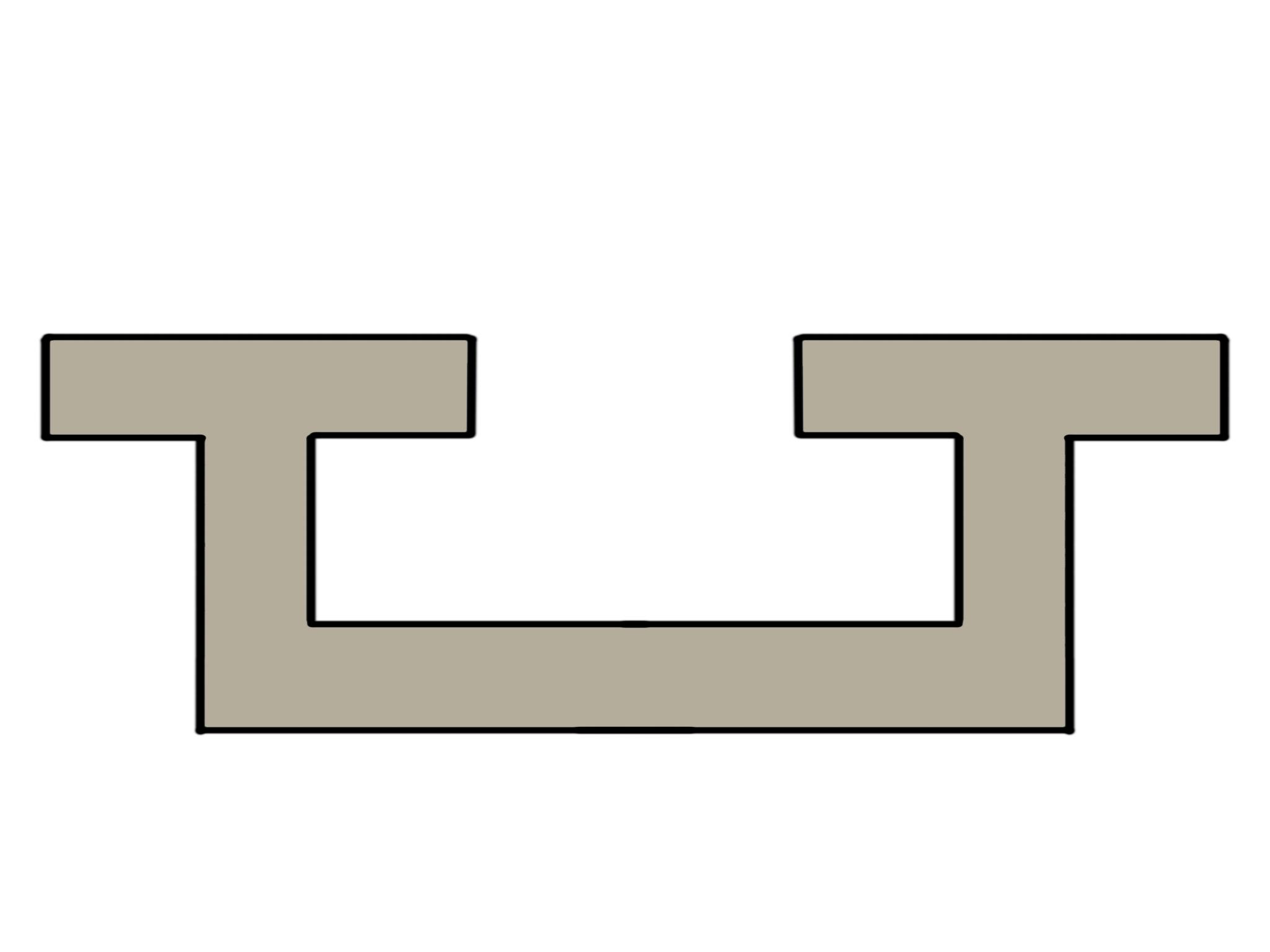 Extrusion process bolt channels