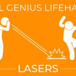 Evil Genius LifeHack: Lasers