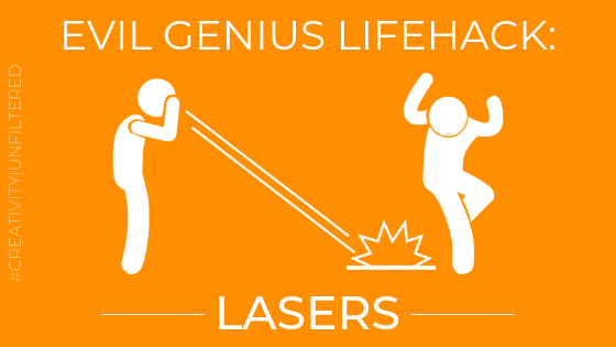 High power lasers graphic