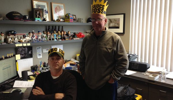 Photo of two Creative Design Network employees.