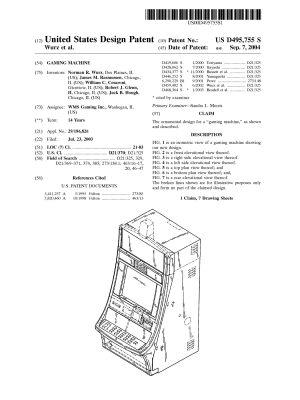 D495755 Gaming Machine WMS-1